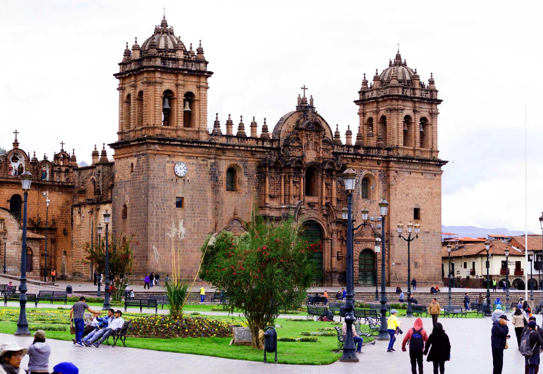 A Catedral de Cusco
