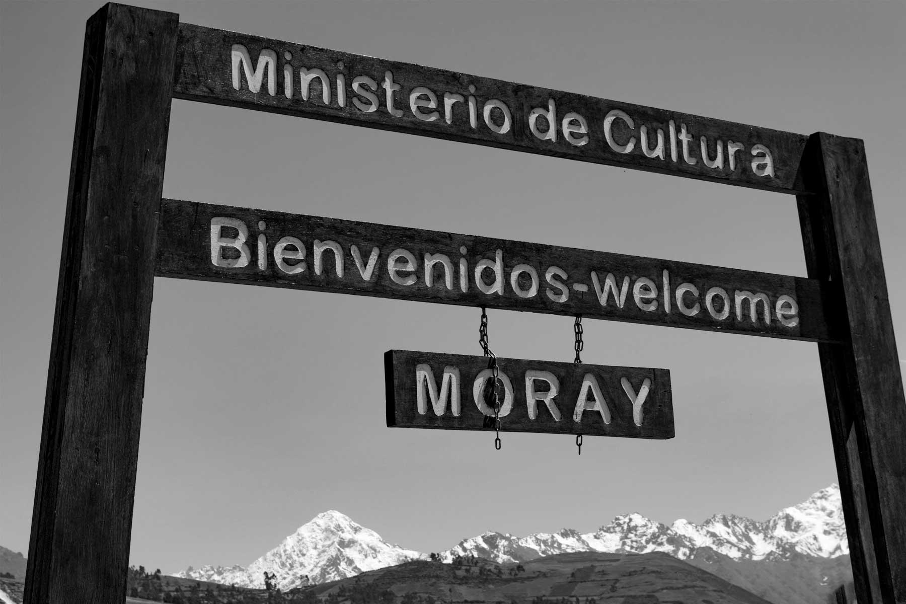 Entrada em Moray