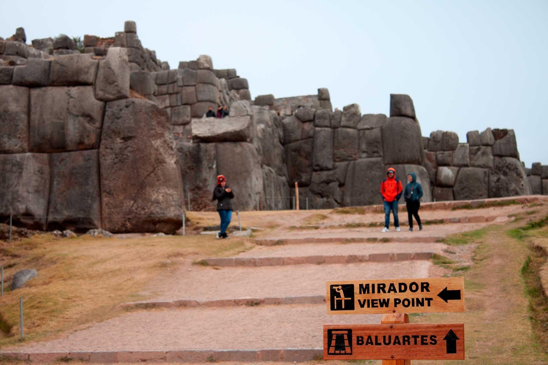 Entrance to Sacsayhuaman