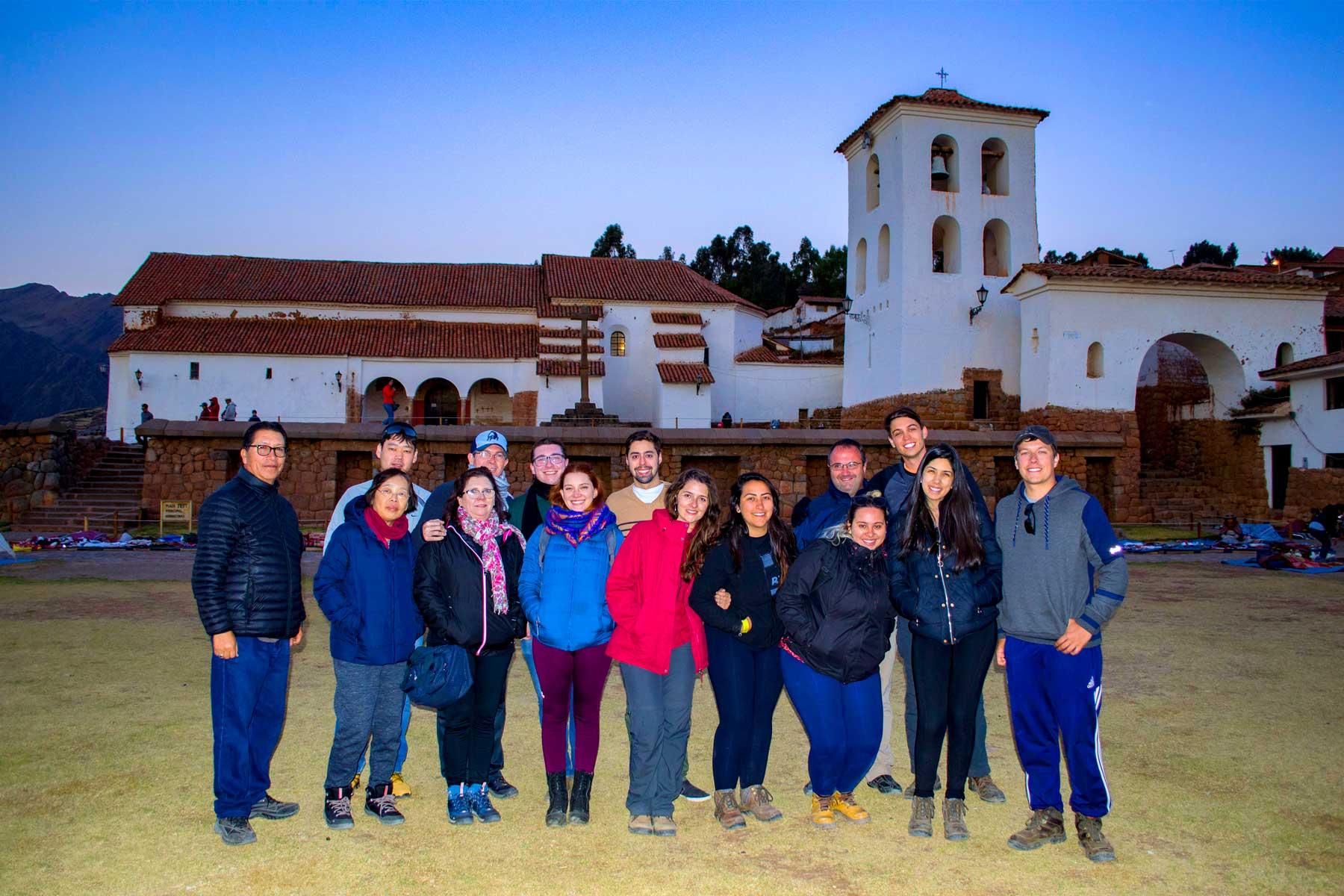 Grupo Eco Tour Cusco em Chinchero