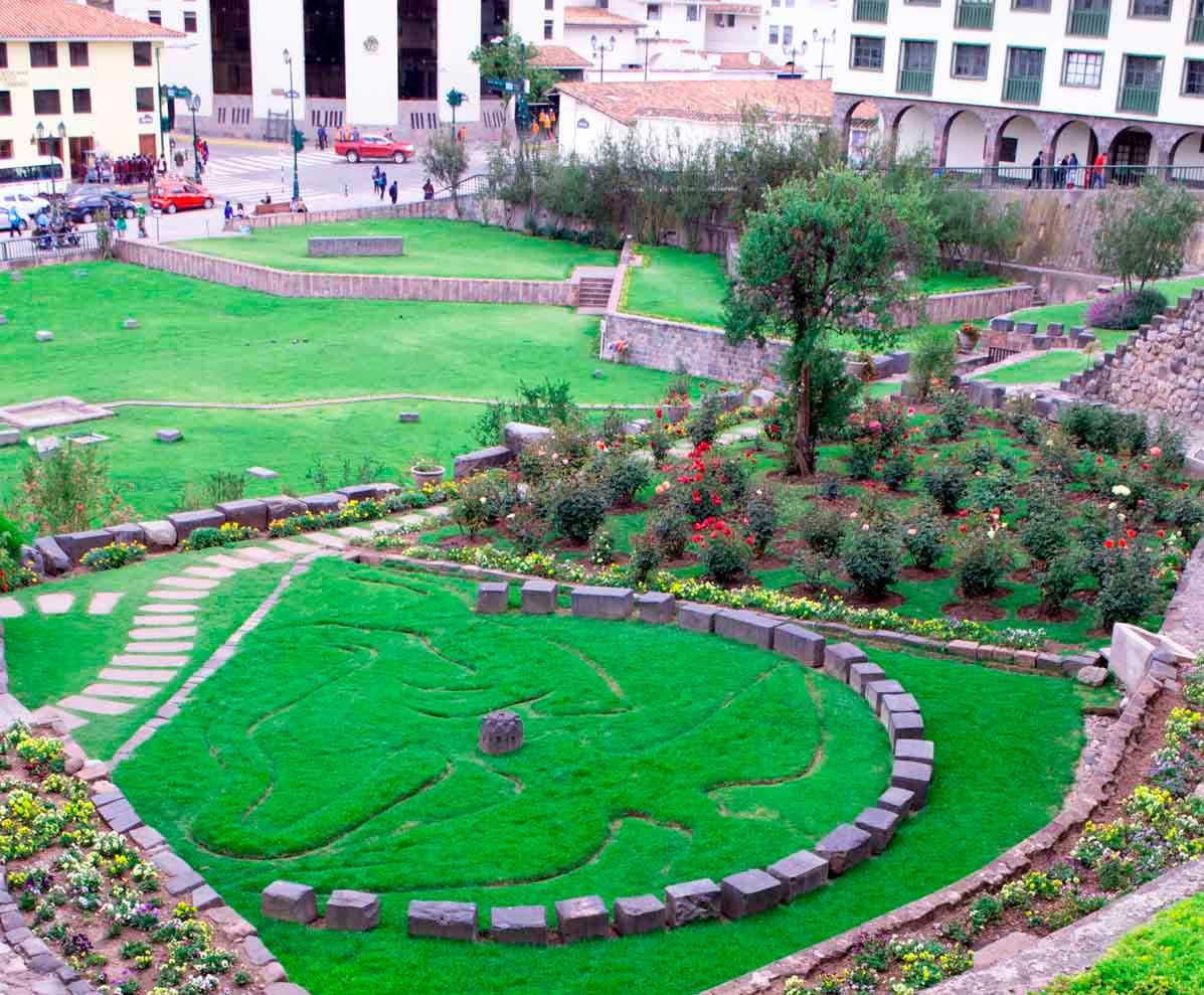 Jardines del Qoricancha