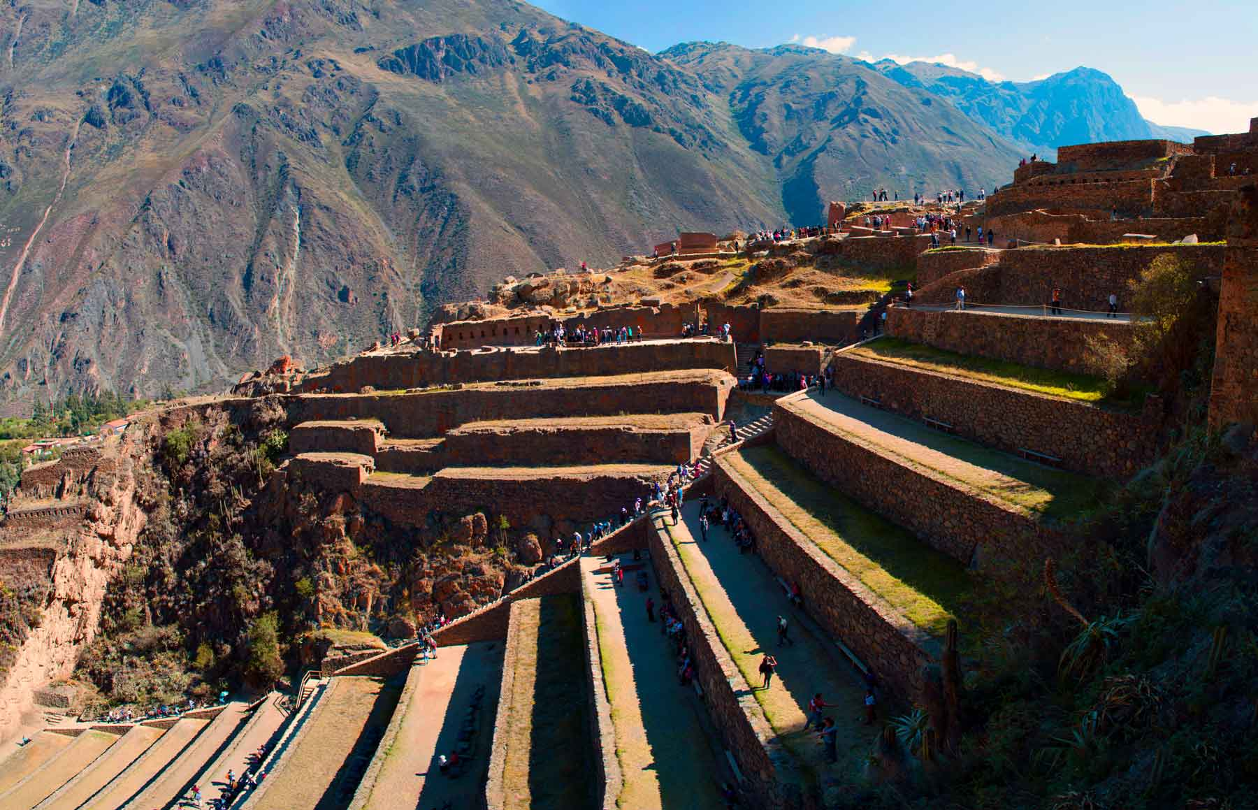Platforms of Ollantaytambo